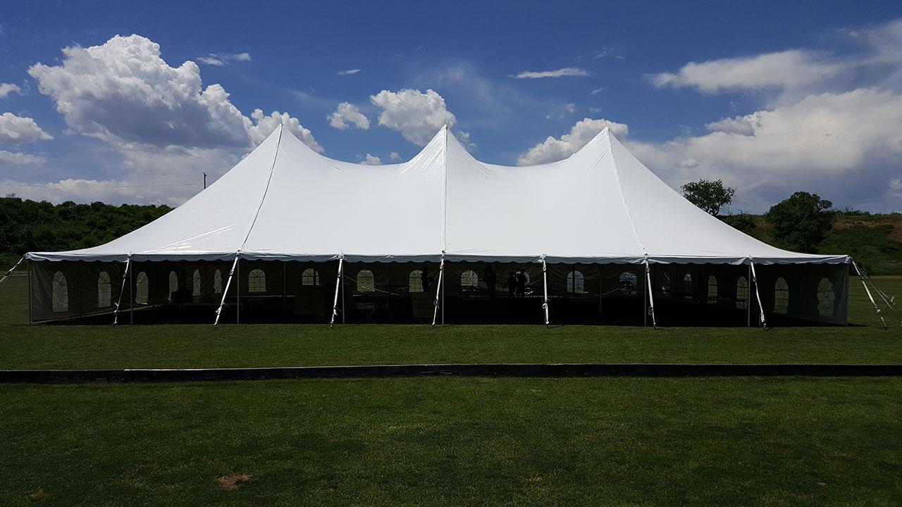 Elegant: Benson Tent Rent
