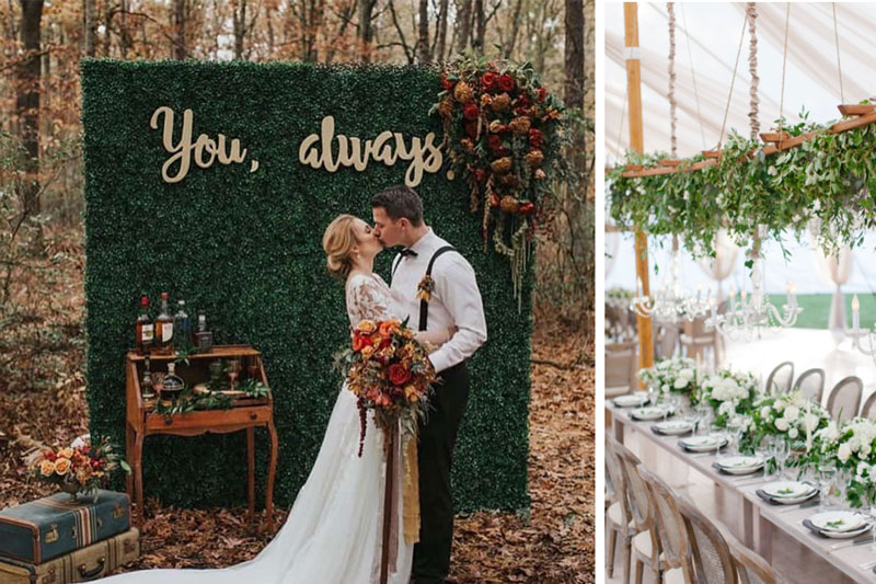 A Look at 2021 Weddings from Benson Tent Rent's Point-of-View