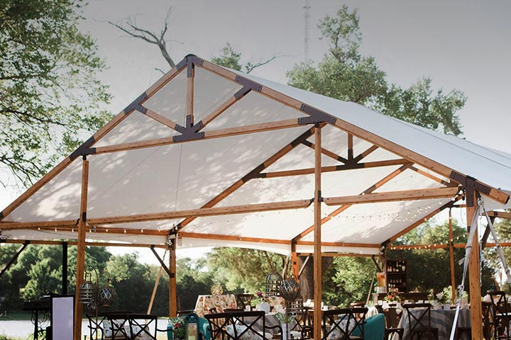 Expanded Outdoor Dining for Restaurants with Tents