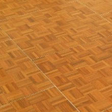 12′ x 12′ Oak Parquet dance floor