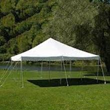 20′ x 20′ pole tent