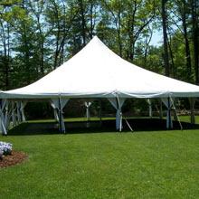 40′ x 40′ pole tent