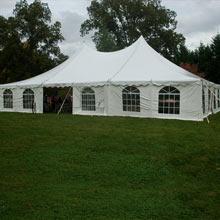 40′ x 60′ pole tent
