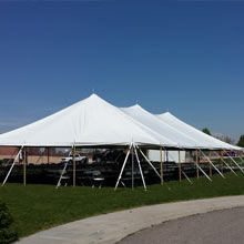 40′ x 80′ pole tent